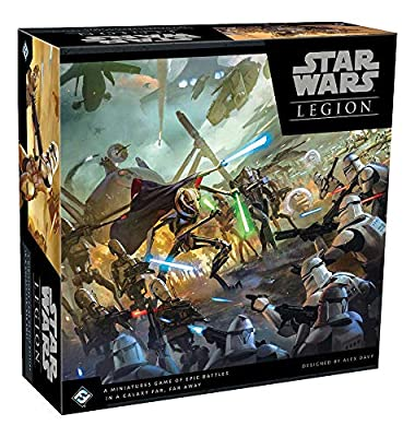 Fantasy Flight Games Star Wars Legion Miniatures: Clone Wares Core Set