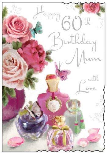 Amazon.com: Happy 60th Tarjeta de felicitación de cumpleaños ...
