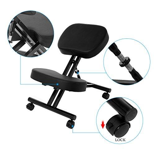 Ergonomic Kneeling Desk Chair Unique Design Health Care