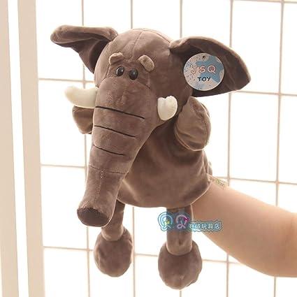 Bambini che sussurrano pupazzi animali guanti bambole in grado di