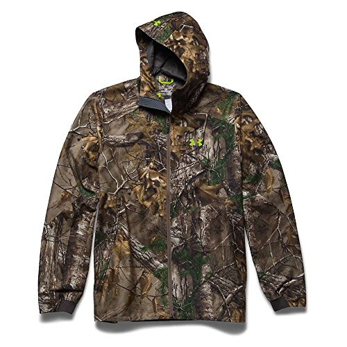 Under Armour Men's Storm Gore-Tex Essential Rain Jacket, Small, Realtree AP-Xtra