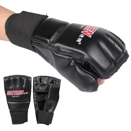 UPC 608503584074, Enjoydeal 1 Pair Training Boxing Punching Bag Half Finger Gloves
