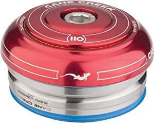 Cane Creek 110 IS42/28.6 / IS42/30 Short Cover Headset Red