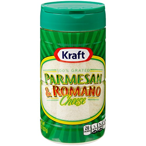 (Kraft Parmesan & Romano Grated Cheese (8 oz Bags, Pack of 2) )