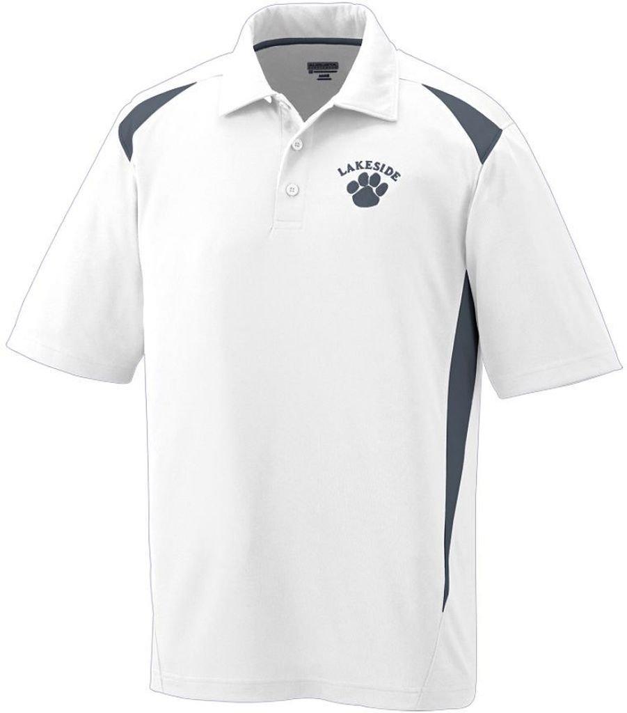 Augusta Sportswearメンズプレミアスポーツシャツ B00E1YS0D0 XX-Large ホワイト/黒鉛 ホワイト/黒鉛 XX-Large
