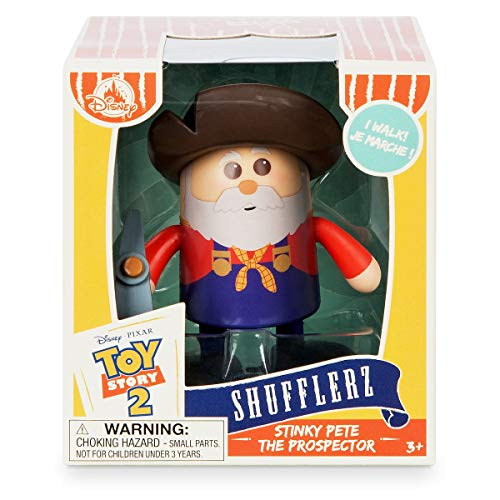 (Disney Stinky Pete The Prospector Shufflerz Walking Figure - Toy Story)