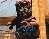 James C. Mathis III autographed 8x10 photograph Lego Voice of Black Panther