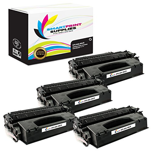 00a Toner - Smart Print Supplies C3900A 00A MICR Black Premium Compatible Toner Cartridge Replacement for HP 4V 4MV BX, Brother HL4 Printers (8,100 Pages) - 4 Pack