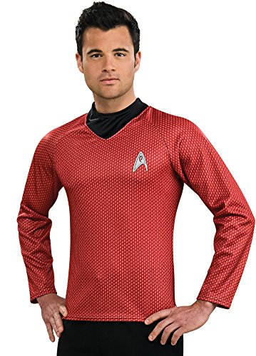 [Star Trek Movie Red Shirt, Adult XL Costume] (Haloween Adult Costumes)