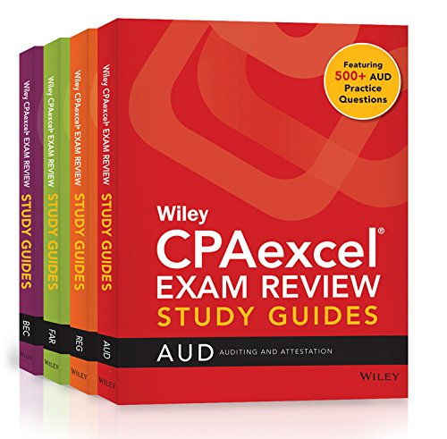 Wiley CPAexcel Exam Review January 2017 Study Guide: Complete Set (Wiley CPA Exam Review) (Best Cfa Study Guide)