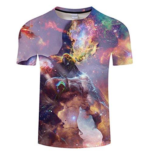 e9e7ffc1217c74 KAKAROER 3D Men s Fashion T-Shirt Harajuku T-Shirt Summer Shirt  Short-Sleeved