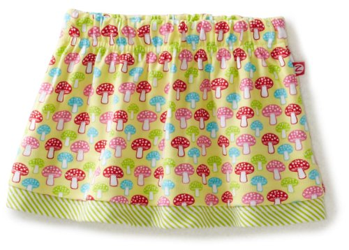 Zutano Baby Girls' Mushrooms Flounce Skirt