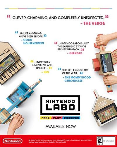 51j8pEdbOML - Nintendo Labo - Variety Kit