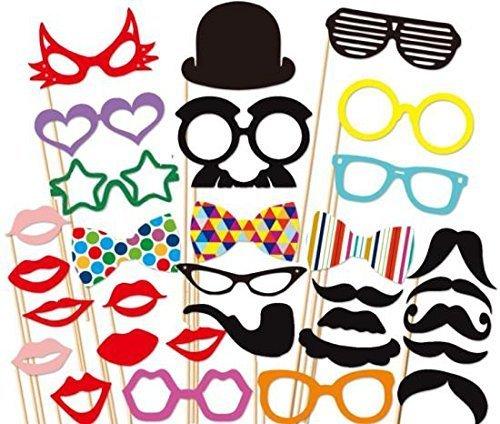 64 opinioni per 32 PCS Photo Booth Props Accessori labbra con Stick giocattolo per Matrimonio