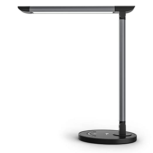 TaoTronics - Lámpara de escritorio, color gris: Amazon.es: Iluminación