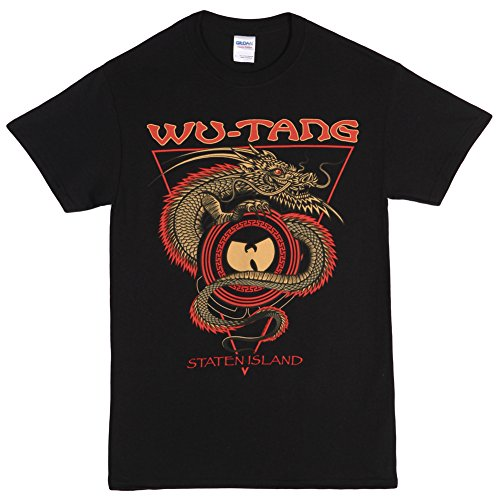 Island Dragon T-shirt - Black (X-Large) ()
