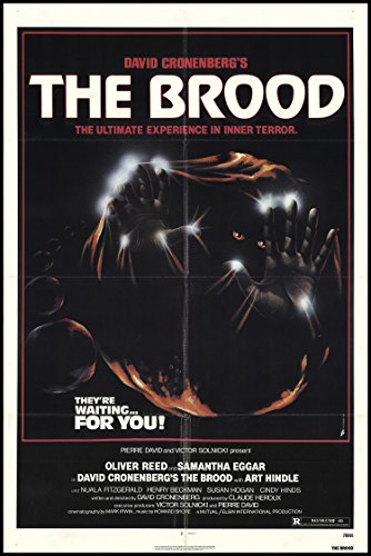 """The Brood 1979 ORIGINAL MOVIE POSTER Horror Mystery Sci-Fi - Dimensions: 27"""" x 41"""""""