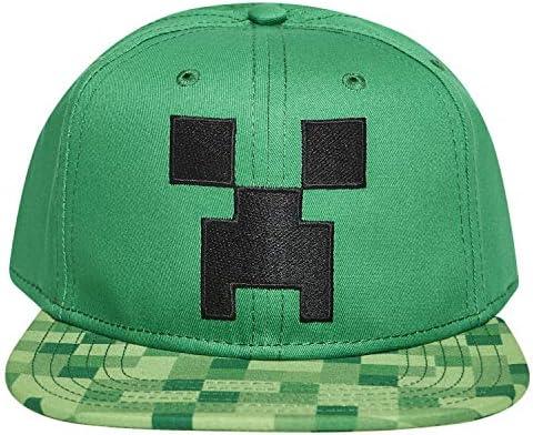 Minecraft Diamond Boys//Youth Snapback Cap