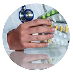 alfombrilla de ratón Médico escribe una receta para tabletas - ronda - 20cm