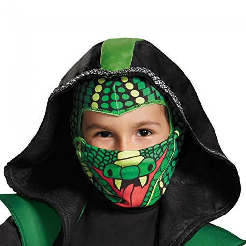 Disguise 83990L Combat Cobra Ninja Toddler Costume, Large (4-6)