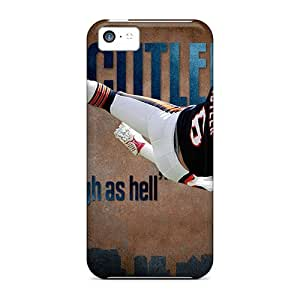 Cute Appearance Cover/tpu WVk351HjLg Chicago Bears Case For Iphone 5c