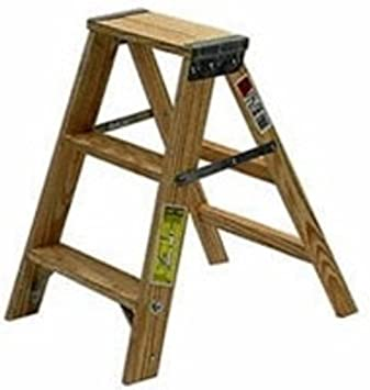 Type Iii Wood Step Ladder 2 Keller Ladder Amazon Com