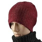ski cowl - men's hat /Knitted Hat/Wool Hat/Warm-keeping hat/cowl-neck pullovers/Tab header caps/Ski Hat-C