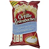 Orville Redenbacher's Gourmet Popcorn, Simply Salted (Pack of 12)
