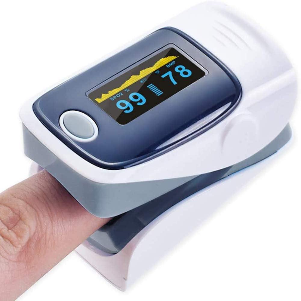 Digital Oxímetro De Pulso para Dedo OLED Médico Pulsioximetro SPO2 Oximetro De Dedo La Saturación De Oxígeno En La Sangre Medidor Caso