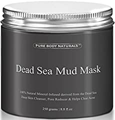 Stop slathering your skin with chemical-based creams and get the solution that has worked for many of our customers! The Dead Sea Mud Mask by Pure Body Naturals is effective for helping your skin. Noted for its high concentration of sodium and magnes...