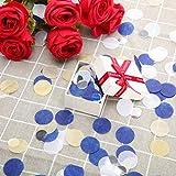 Round Tissue Paper Table Confetti Dots for