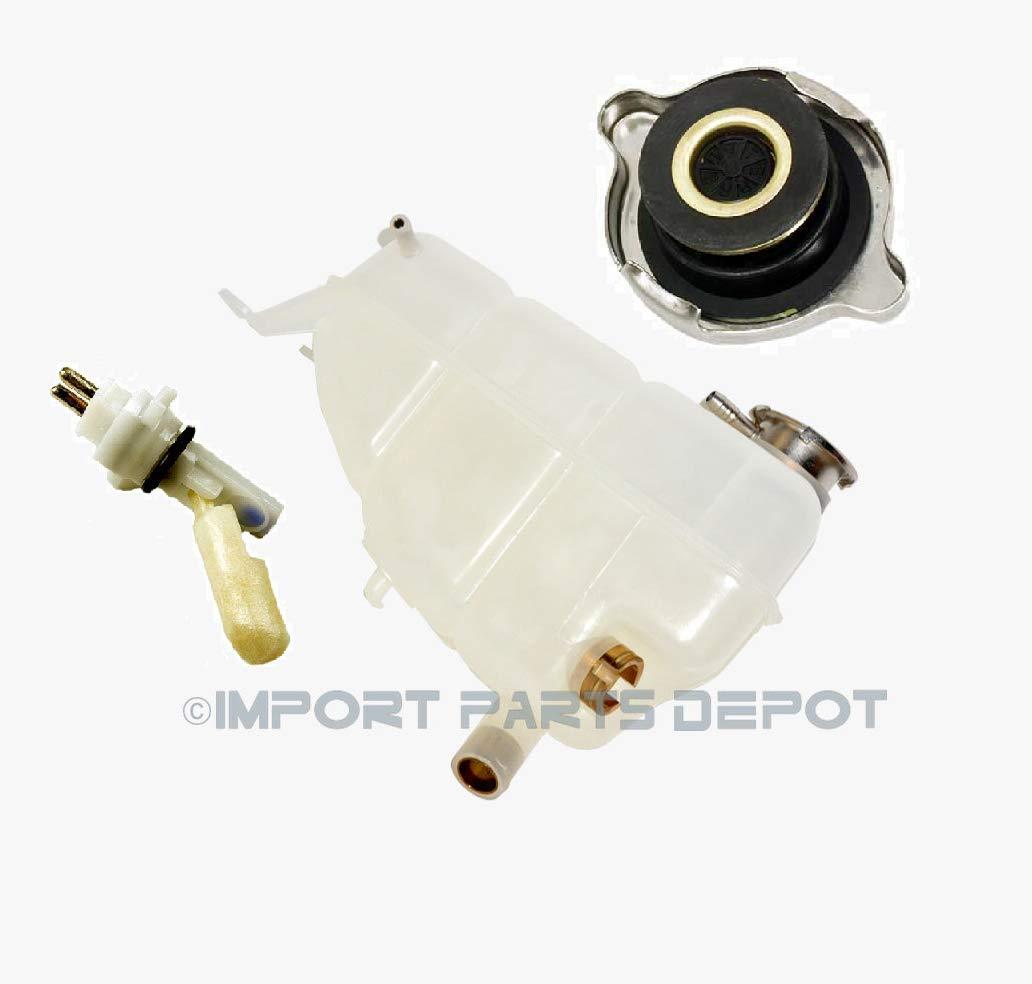 Cap 3pcs Coolant Reservoir Expansion Tank Sensor Mercedes E320 300CE 300E 300TE Premium Quality 1245001349//1245400244 // 1245000406