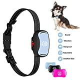 Pumila 2019 Small Dog Bark Collar,Humane 7-Level Sensitivity Training Collar for Small Dogs with Beep,Vibration,No Shock Collar for Medium Dogs,Safe Dog No Bark Collar