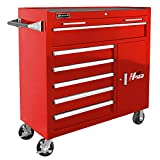 Homak H2PRO Series 41-Inch 6-Drawer with 2-Drawer Compartment Roller,...