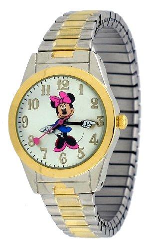 Disney #MCK635 Women's Two Tone Expansion Bracelet Minne (Case Two Tone Expansion Bracelet)