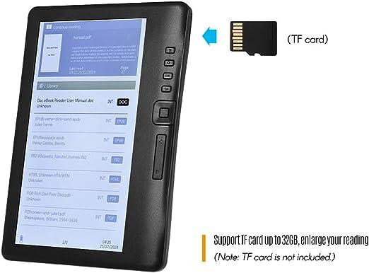 BK7019 Lector de libros electrónicos portátil de 7 pulgadas Lector ...