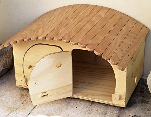 Novedad Blitzen, Big Camping Motel WP Outdoor, casita Caseta Multi orificio para gatos de Grossa Talla: Amazon.es: Jardín