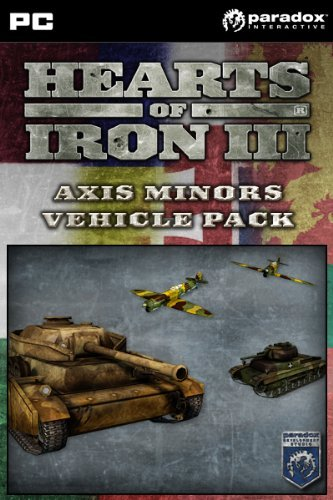Minor Axis - Hearts of Iron III: Axis Minor Vehicle Pack [Online Game Code]