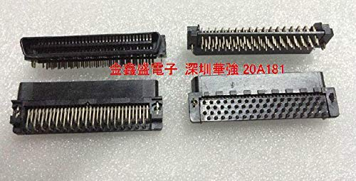 Gimax AMP SCSI 68P male connector curved legs CN