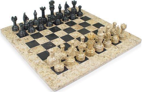 Red Onyx Chess Set (12