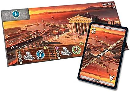 Siracusa Wonder Board Expansión - para 7 Wonders Armada: Amazon.es: Juguetes y juegos
