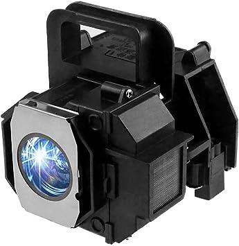 Lanwande V13H010L49 / ELPLP49 Lámpara de Repuesto para proyector ...