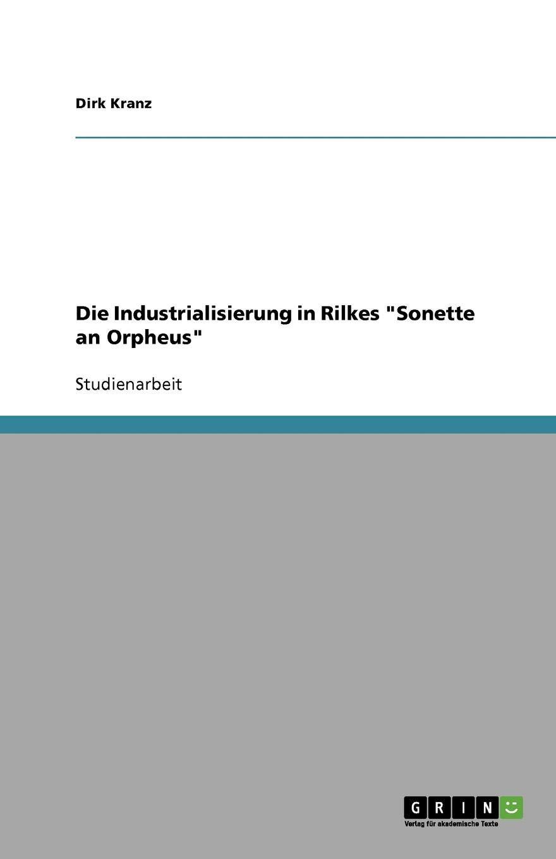 Die Sonette an Orpheus (German Edition)