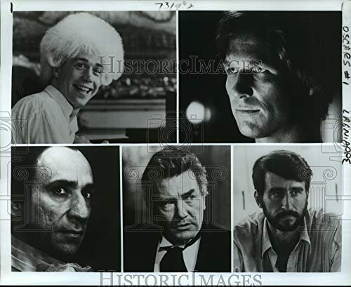 Historic Images - 1985 Press Photo Nominees for Best Actor at The Academy Awards, on ABC.