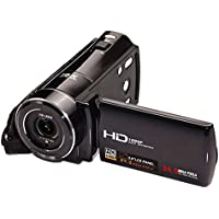 SODIAL(R) HDV-V7 1080P Full HD Digital Video Camera Camcorder Max. 24 Mega Pixels 16¡Á Digital Zoom with 3.0 Rotatable LCD Screen Support Face Detection