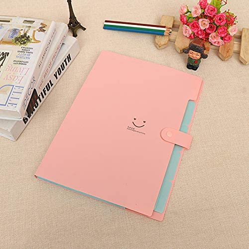 3pcs 5-Pocket Expanding File, 6pcs Poly Filing Folder Officematics 9-in-1 School Filing Combo for School Supplies