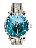 Polar Bear Custom Fashion Ladies Stainless Steel Analog Quartz Crystal Bracelet Watch Wrist Watches