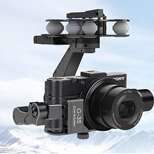 Price comparison product image Walkera G-3S 3 Axis Brushless Gimbal For Sony RX100 II camera