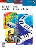 In Recital with Jazz, Blues, and Rags, Book 2 (includes CD)