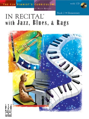 In Recital with Jazz, Blues, and Rags, Book 2 PDF